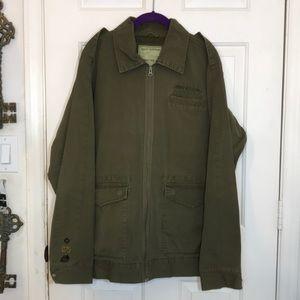 Like New Men's Oakley Large Green Military Jacket